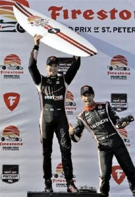 Will Power wins the Verizon IndyCar Firestone Grand Prix
